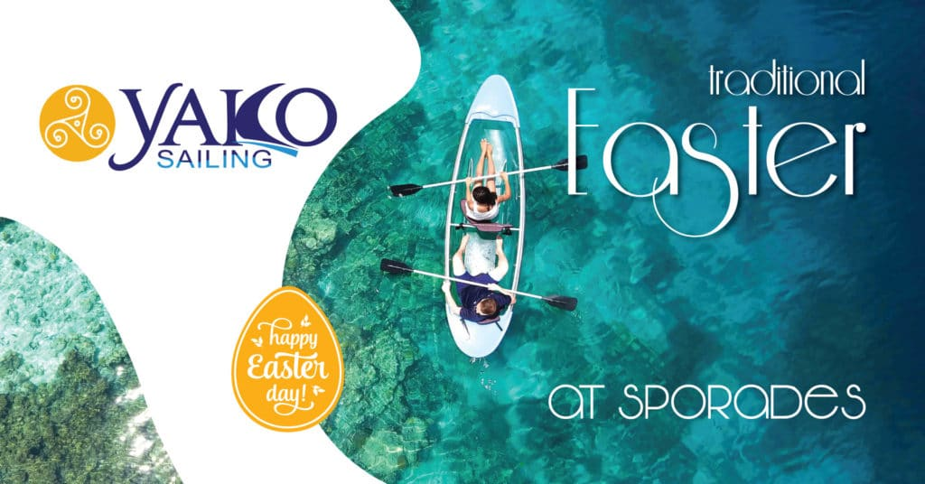 Easter in Sporades cruise YAKO Sailing